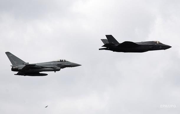 США в бою вперше застосували новітні винищувачі F-35
