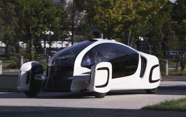Япония представила электромобиль, на 90% сделанный из пластмассы