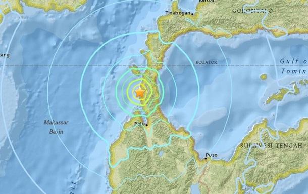 Біля берегів Індонезії стався землетрус магнітудою 6,1