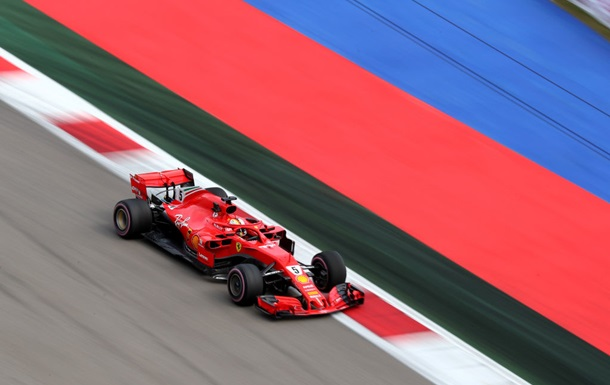 Феттель виграв першу практику на Гран-прі Росії
