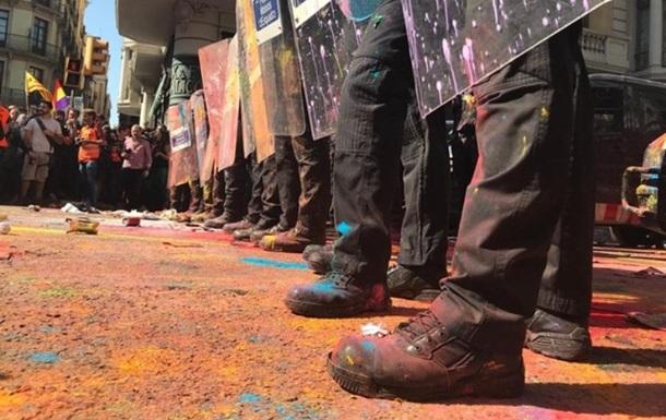Понад 20 людей постраждали в акції протесту в Барселоні