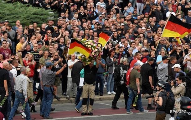 Демонстрація проти расизму пройшла в Гамбурзі