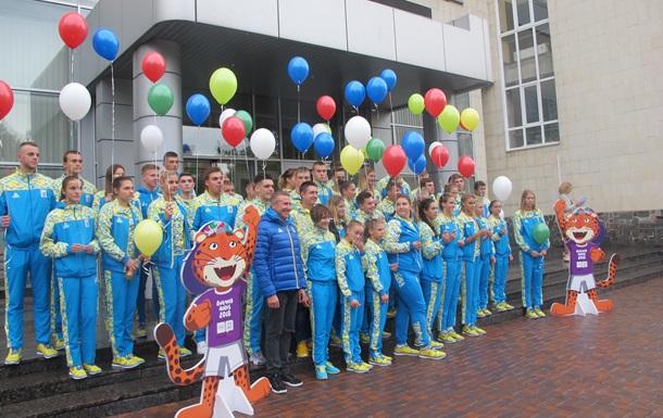 Українську збірну провели на III літні юнацькі Олімпійські ігри