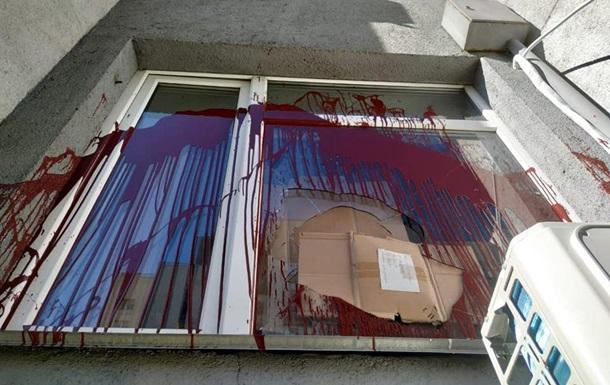 Нацкорпус заявил о нападении на приемную нардепа