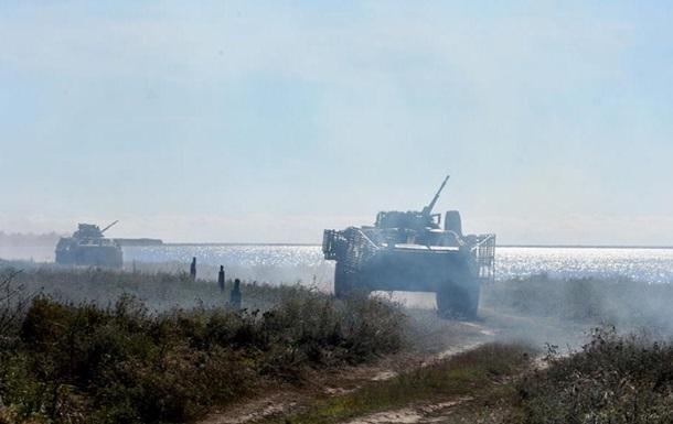 ВМС завершили військові навчання в Азовському морі