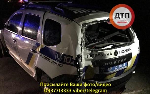 Внаслідок аварії з поліцією у Сєвєродонецьку постраждали шестеро людей