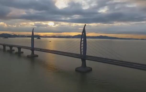 Відкрито найдовший міст над морем
