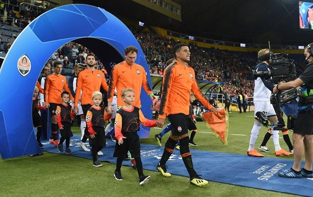 Дивитися онлайн футбол Ліон - Шахтар