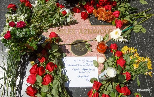 ЗМІ назвали можливе місце похорону Шарля Азнавура