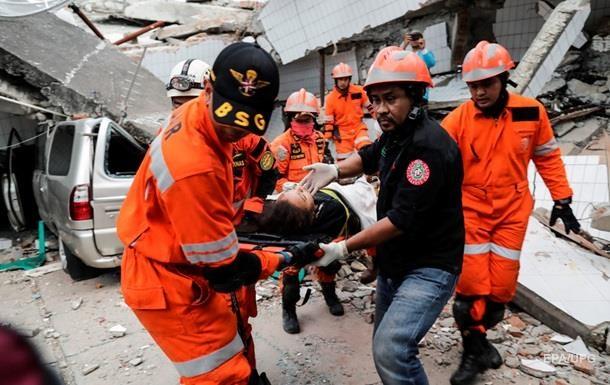 Землетрус в Індонезії: українців немає серед жертв і постраждалих