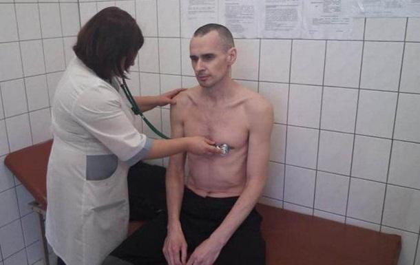 У Сенцова серцева недостатність - адвокат