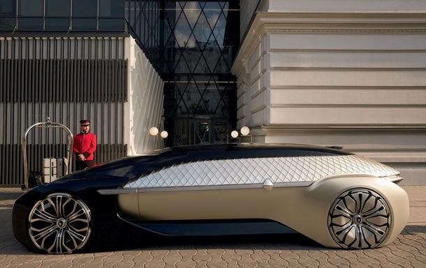 Рено EZ-ULTIMO: концепт-кар шикарного футуристического электромобиля