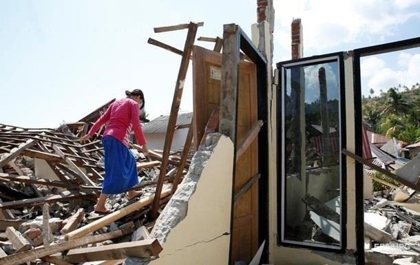 Кількість жертв стихії в Індонезії перевищила 1300 осіб