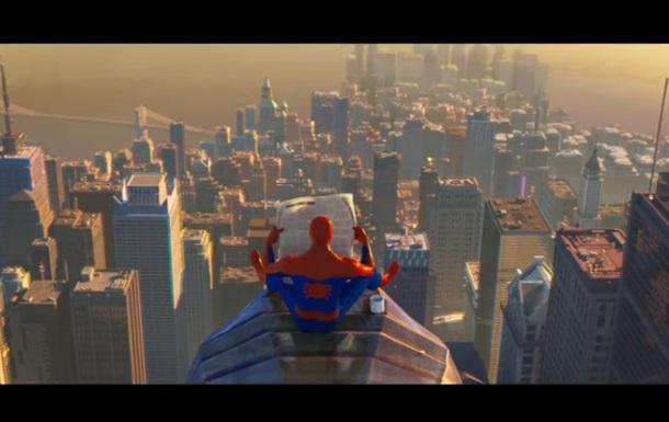 Вийшов новий трейлер мультфільму Людина-павук