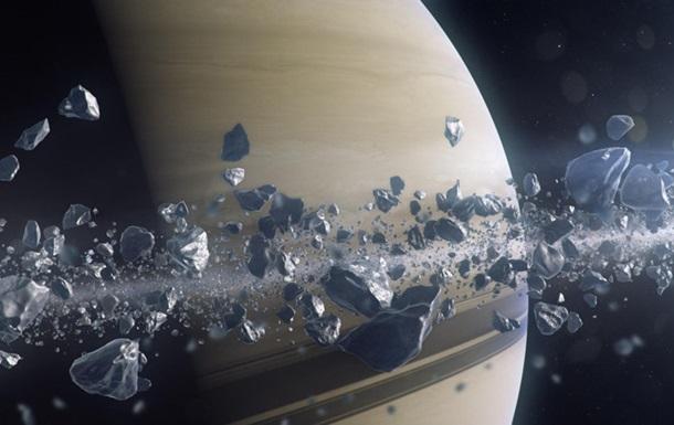 Вчені заявили, що Сатурн пожирає власні кільця