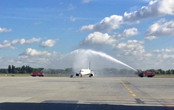 Нова компанія зробила перший рейс в аеропорт Бориспіль