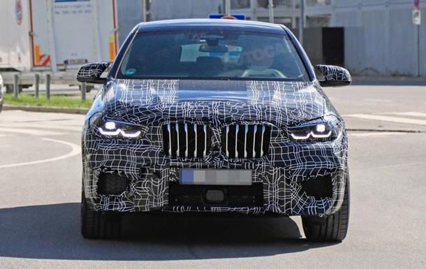 BMW протестувала спортивний кросовер X6 M
