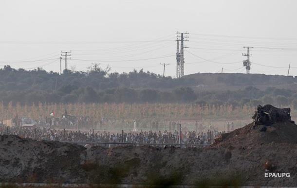 Двоє палестинців загинули в масових зіткненнях у секторі Гази
