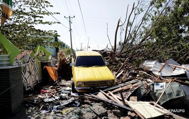 Землетрус в Індонезії: загинуло понад 1600 осіб