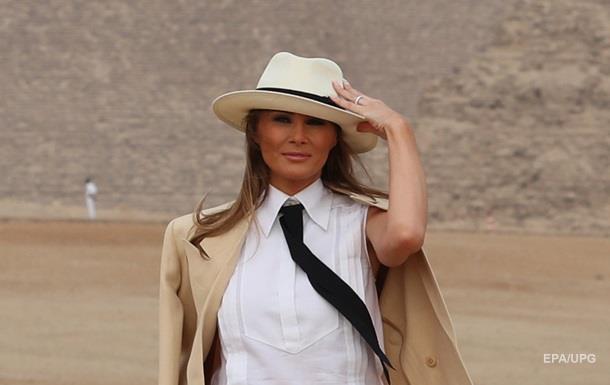 Перша леді США заявила, що не завжди згодна з твітами чоловіка