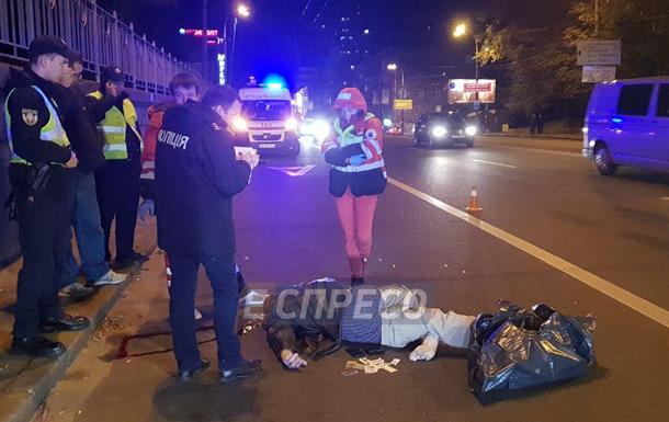 У Києві авто збило чоловіка, що перебігав багатосмугову дорогу