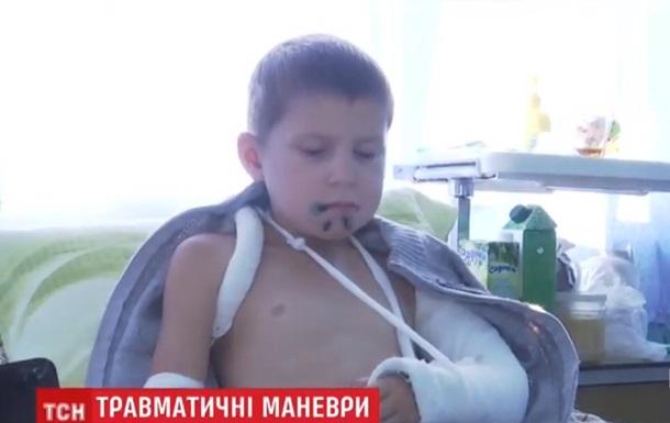 У Житомирській області шлагбаум травмував школяра