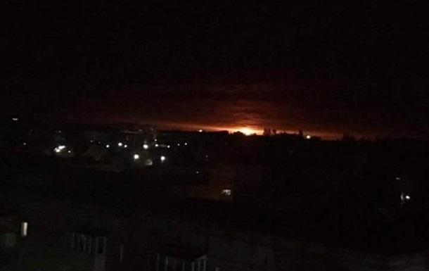 В Черниговской области взорвался склад боеприпасов
