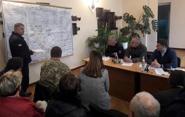 Під Ічнею відбулося засідання оперативного штабу