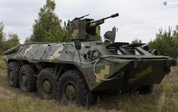 В Україні показали модернізований БТР-70
