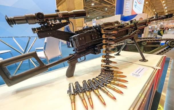 В Киеве открылась выставка оружия и бронетехники