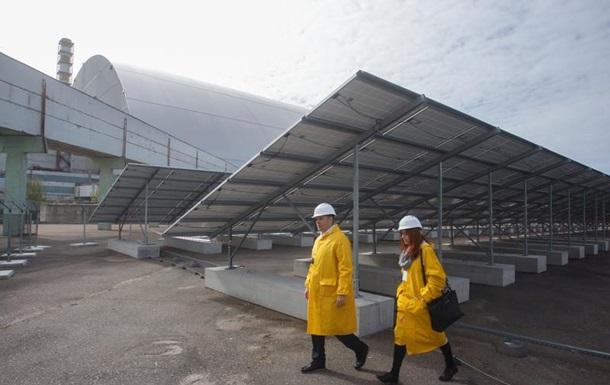 Відродження. Сонячна електростанція в Чорнобилі