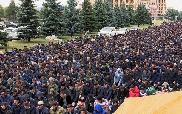 Массовые протесты в Ингушетии могут перерасти в революцию
