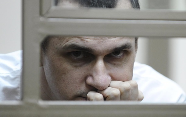 У РФ заявили, що Сенцов їсть і  виглядає здоровим