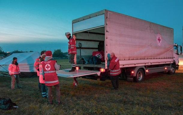 Вибухи в Ічні: у чотирьох населених пунктах працює Червоний Хрест