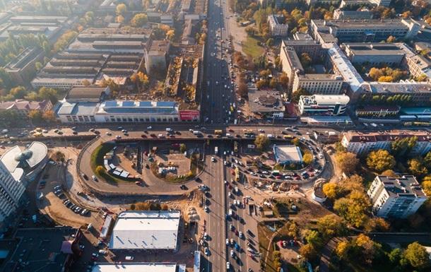 Шулявський міст показали з повітря перед знесенням