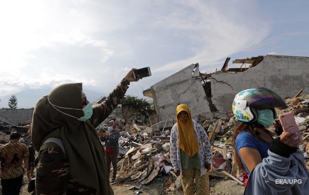 Землетрус в Індонезії: кількість загиблих зросла до 2045