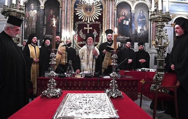 Появился текст заявления Синода по Украине