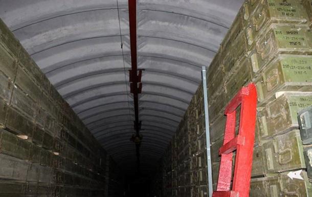 ЗСУ показали бетонні сховища для боєприпасів