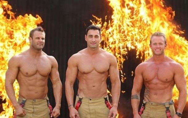 В Австралії пожежники знялися топлес для календаря