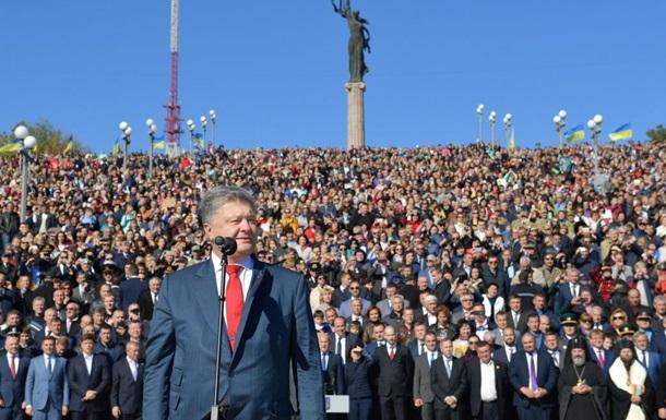 Порошенко заявив про швидку зміну Конституції щодо курсу до НАТО