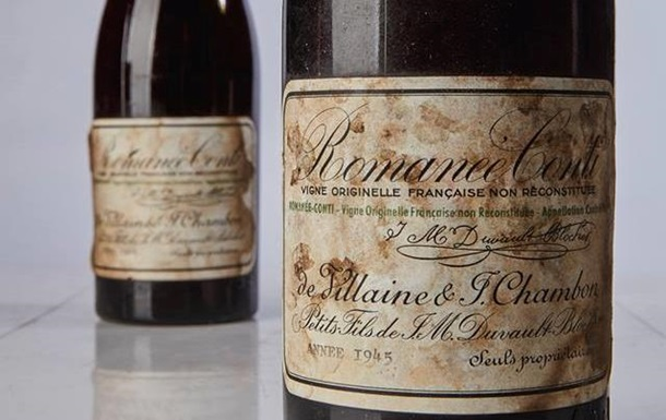 У Нью-Йорку пляшку вина продали з аукціону за рекордну ціну