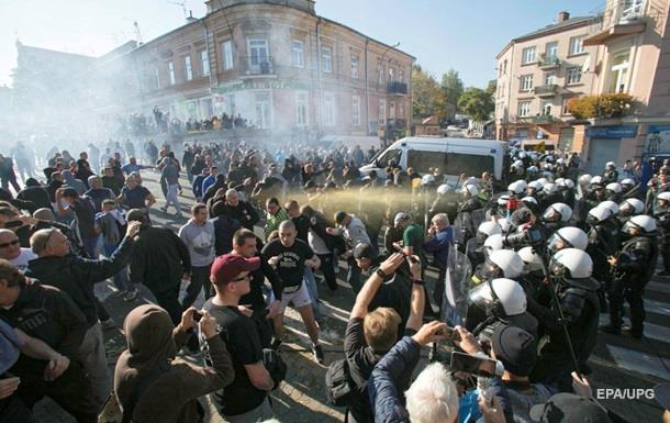 У польському Любліні радикали намагалися заблокувати перший гей-парад