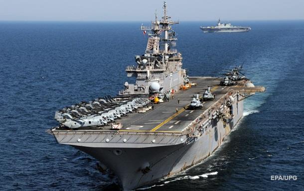 В Катар прибув десантний корабель ВМС США