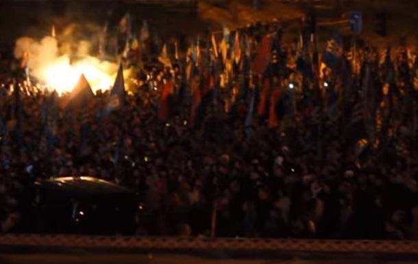 Националисты установили рекорд по исполнению гимна ОУН