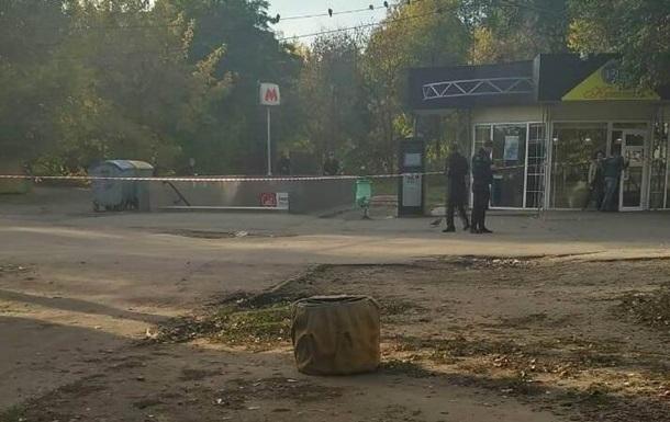 На остановке в Харькове нашли гранату
