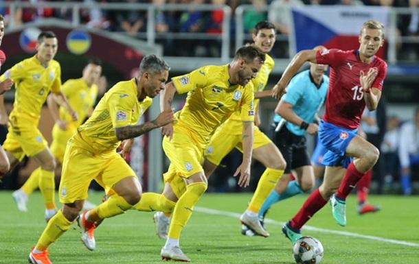 Ліга націй: Україна - Чехія 1-0. Онлайн