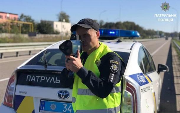Патрульные с  радарами  TruCam начали штрафовать водителей