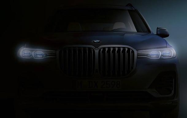 BMW показала тизер нового кросовера X7