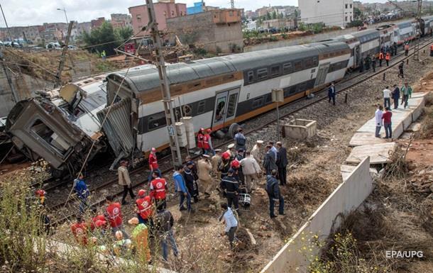 У Марокко зійшов з колії потяг, є жертви