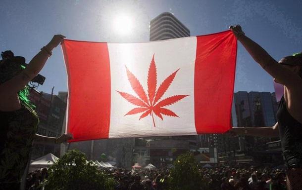 Канада легалізувала марихуану